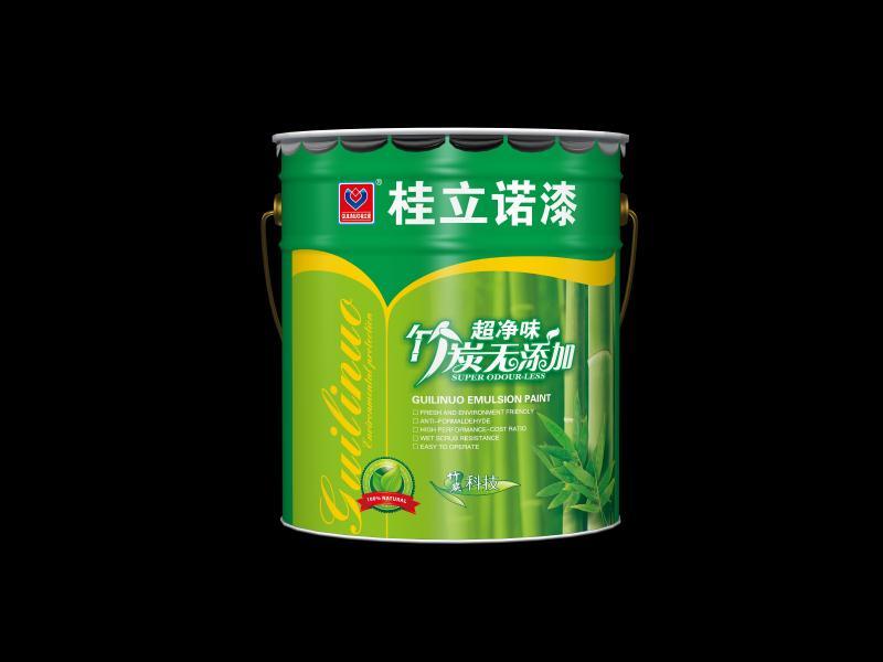 超净味竹炭无添加墙面漆